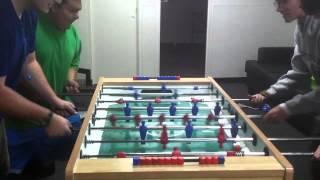 Random Foosball (Table Football) Match