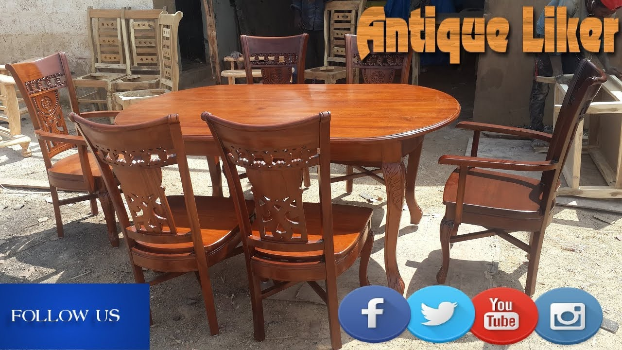 Wooden Dining Table DESIGN With Cushion SeatsFurniture Decor Online Furniture Antique Liker