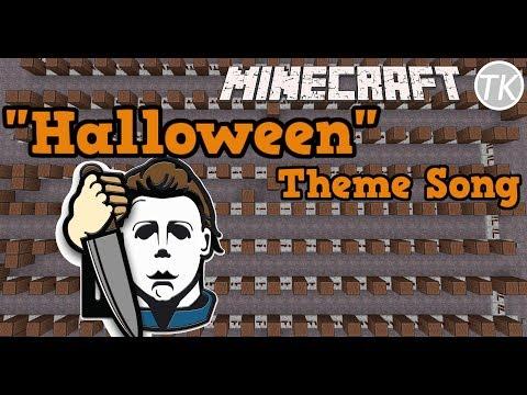 Halloween Theme Song in Minecraft! (Note Blocks)