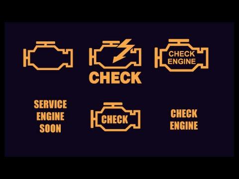 NO HAY CHECK ENGINE LIGHT EN EL TABLERO