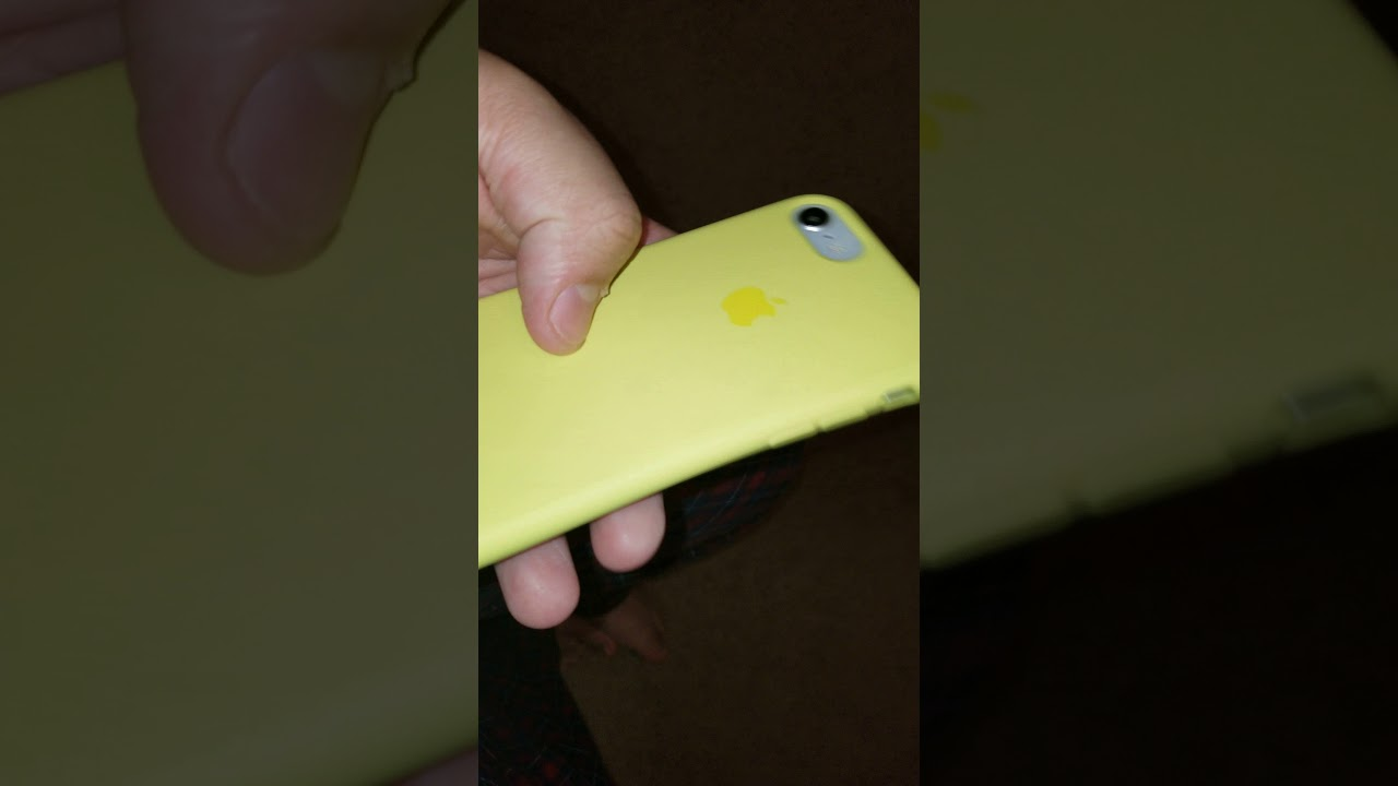 new product 9945c 774fd Apple Flash Yellow Silicone Case 4 months of use update