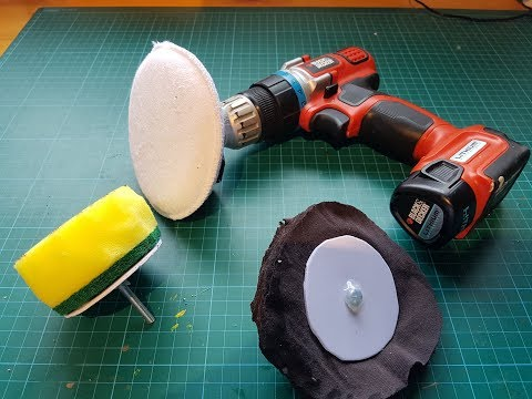 how to make a polishing and buffing pad
