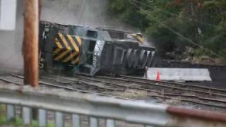 Download Video AWVR  Unstoppable  Locomotive wreck scene MP3 3GP MP4