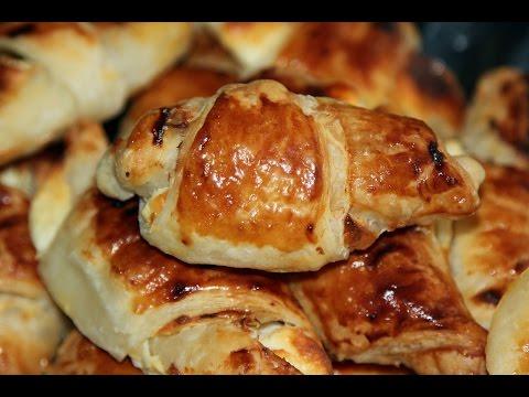 Круассаны с творогом / Croissants with cheese / Моя Dolce vita