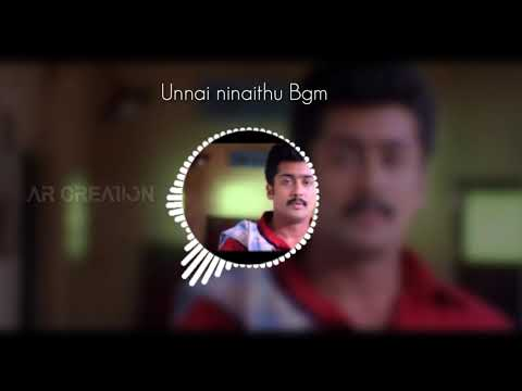 Surya love feel bgm,  whatsapp status //unnai ninaithu movie