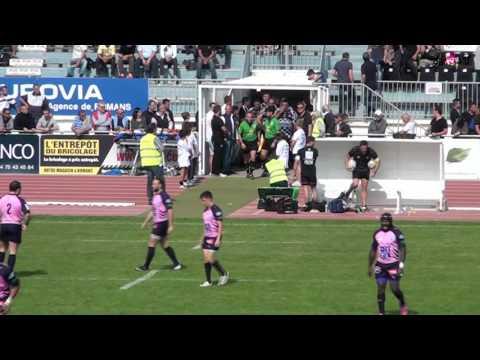 RUGBY Fédérale 1 - USRP vs RCS 27 09 2015