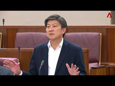 Ng Chee Meng speaks on transport issues in Parliament on Oct 2