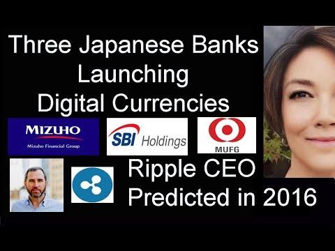 three-japanese-banks-launching-digital-currencies,-japan's-amazon-rakuten-new-digital-strategy