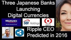 Three Japanese Banks Launching Digital Currencies, Japan's Amazon Rakuten New Digital Strategy