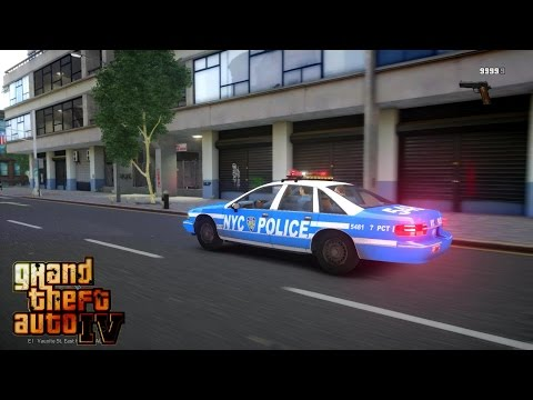 GRAND THEFT AUTO IV - LCPDFR 1.1 -  EPiSODE 4 - NYPD 90'S PATROL (NYPD 1990'S)