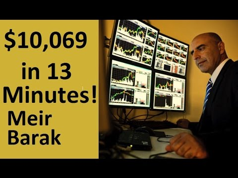 Day Trading Gaps for $10,069 in 13 min. – Meir Barak