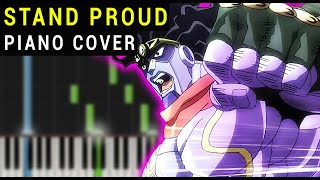 Jojo Stardust Crusaders Stand Proud Piano Tutorial Synthesia.mp3
