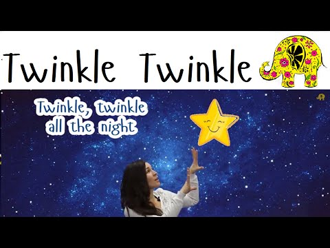 Детские песни. Kids Songs in English and Russian. Twinkle Twinkle Little Star