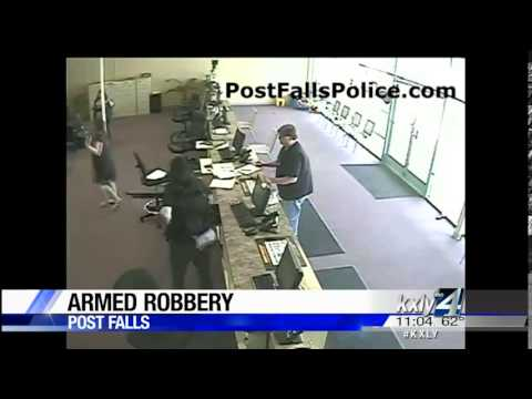 Gunman robs Northwest Title Loans in Post Falls
