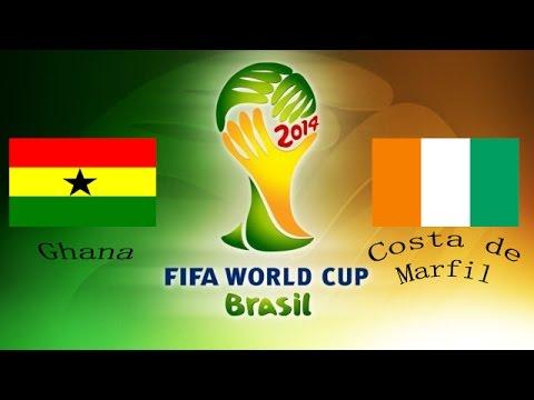 Final SIMULACIÓN COPA de Africa Costa de Marfil Vs Ghana