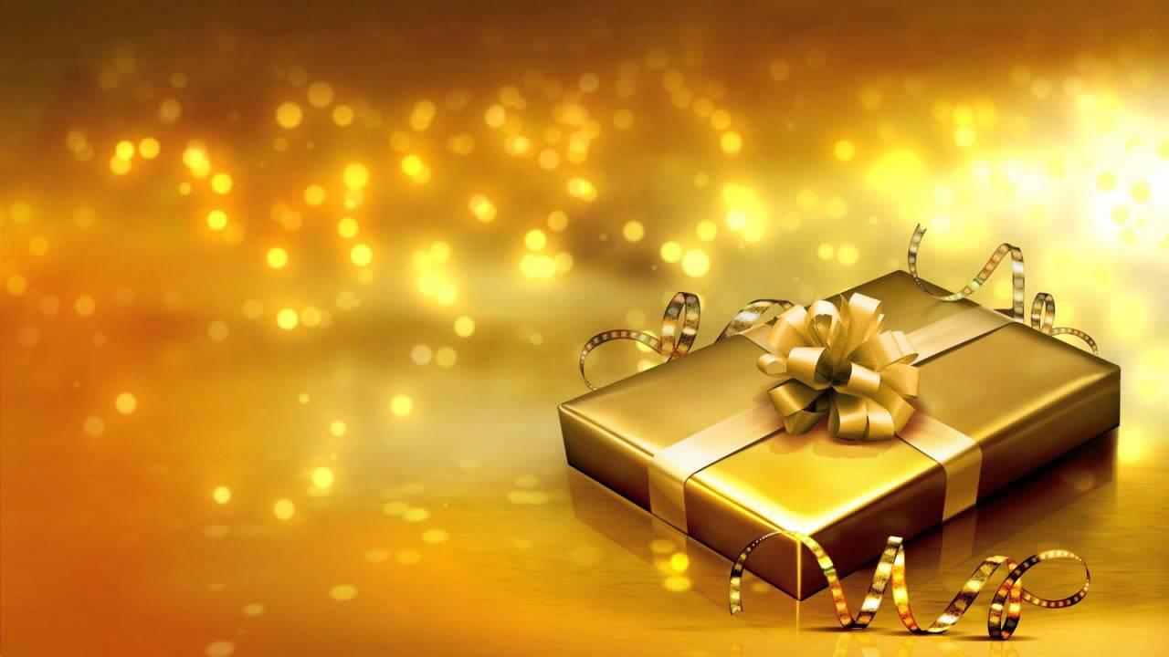 Navidad Wallpaper 3d Fondo Video Background Full Hd Golden Celebration
