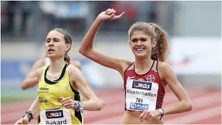 Leichtathletik: Konstanze Klosterhalfen gewinnt Auftakt der World Indoor Tour