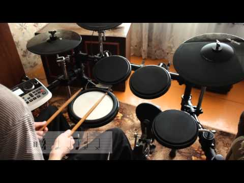 Уроки игры на барабанах [ритмы №1]