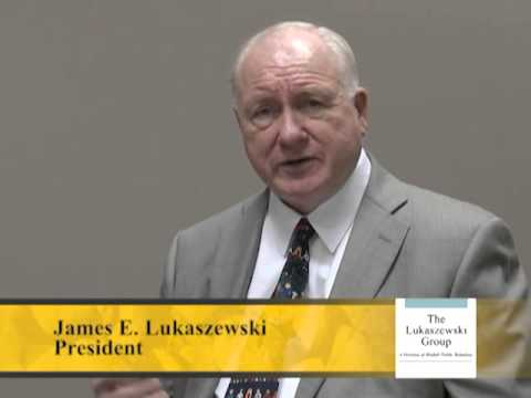 Jim Lukaszewski On Preparation For Crisis