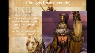 AP World History: Period 3: Mongols Part I