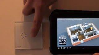 Livolo touch switch remote control