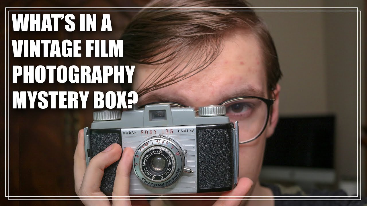 What's In a Vintage Film Photography Mystery Box?