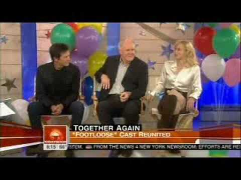 Footloose cast reunite on Today Show 9/12/2008