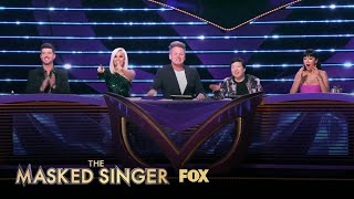 Gordon & The Judges Pressure Nick To Eat A Bug | Season 3 Ep. 14 | THE MASKED SINGER