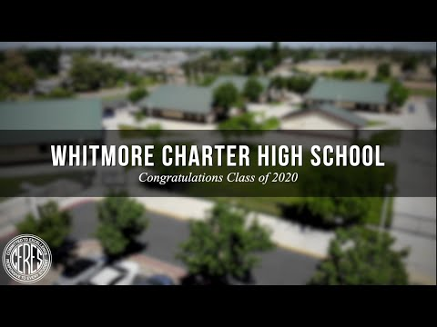 Whitmore Charter High School Virtual Commencement of the Class of 2020