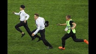 Полиция на чм 2018  Пуси райт выбежали на поле на финале чемпионата мира по футболу в России 2018 Ви