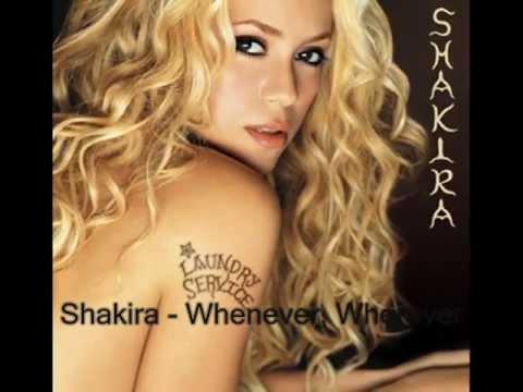 Whenever, Wherever - Shakira (Lyrics)