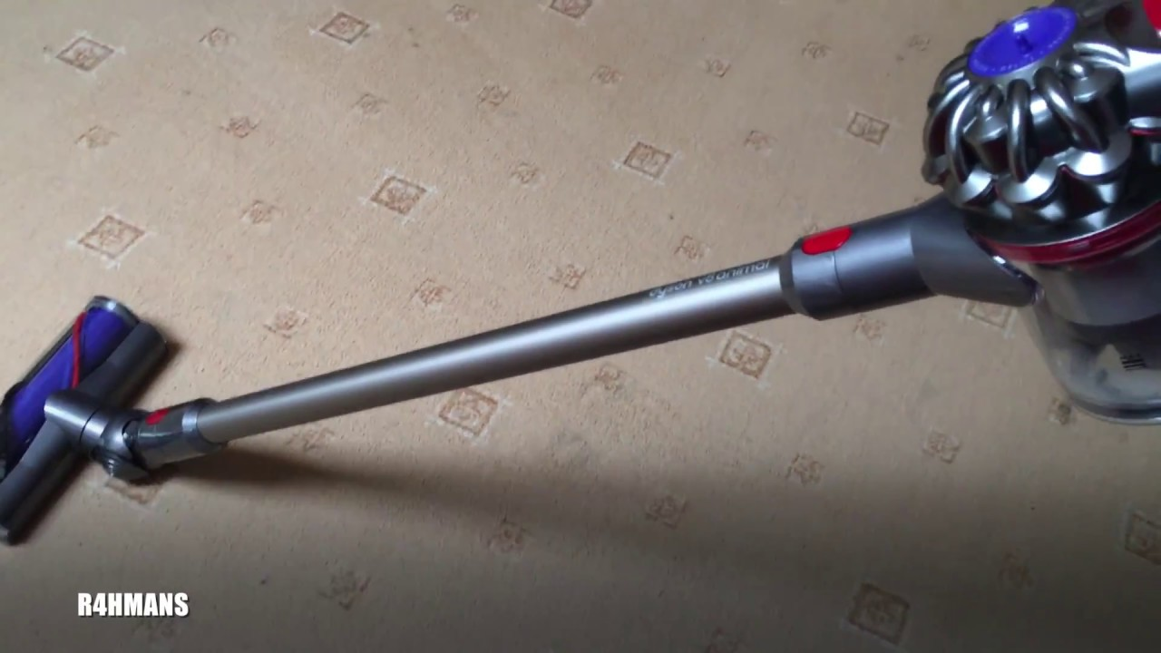 testing review of dyson v8 animal handheld vacuum youtube. Black Bedroom Furniture Sets. Home Design Ideas