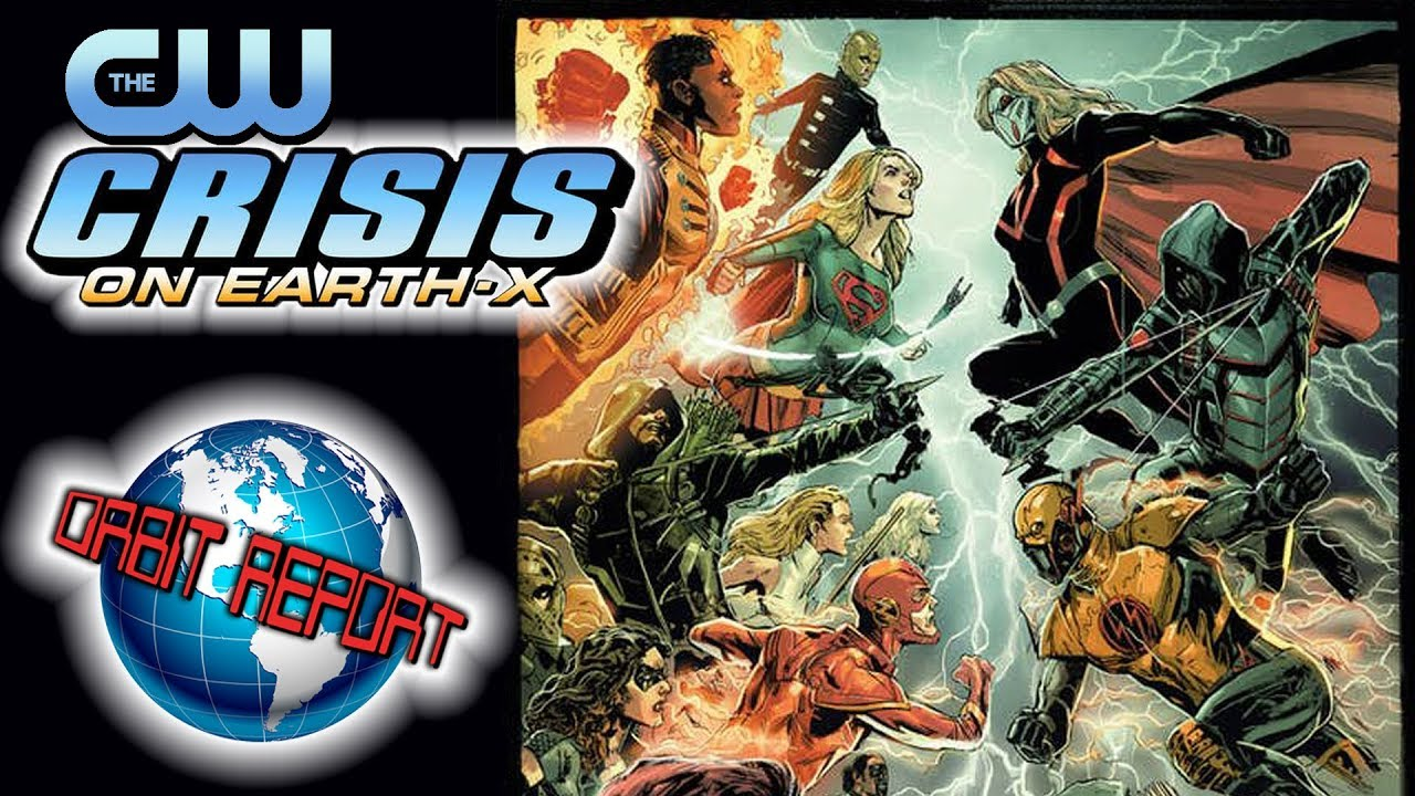 CW's Crisis on Earth X - Orbit Report - YouTube