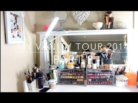 我的化妝台 Vanity Tour 2014 Part 2 HiBarbie