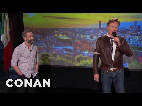 Q&A: What Souvenirs Conan & Jordan Picked Up In Italy  - CONAN On TBS
