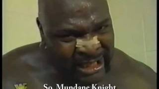 Ahmed Johnson - Mike Zoane has a Cadillac and Enzo