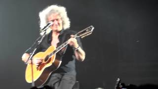 QUEEN AND ADAM LAMBERT - LONDON 14/07/2012    YOU'RE MY BEST FRIEND  LOVE OF MY LIFE BRYAN MAY