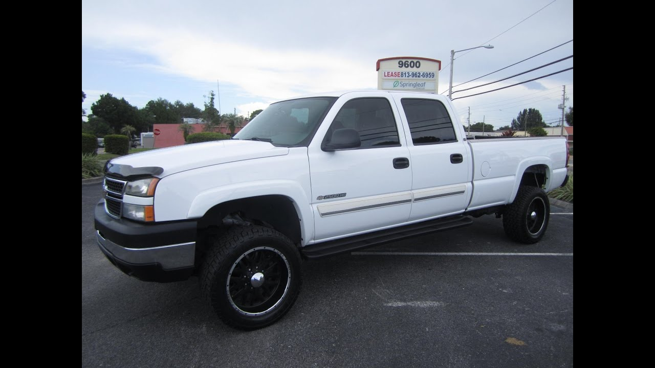 All Chevy chevy 2500hd 2006 : SOLD 2006 Chevrolet Silverado 2500 HD LT1 Crew Cab 2WD Meticulous ...