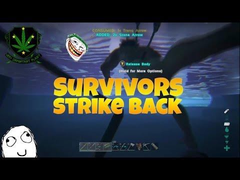 Trolling on ark : Survivors strike back