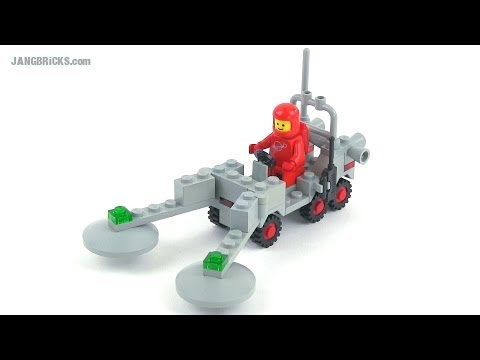 LEGO Classic Space 6841 Mineral Detector review! 1980 set