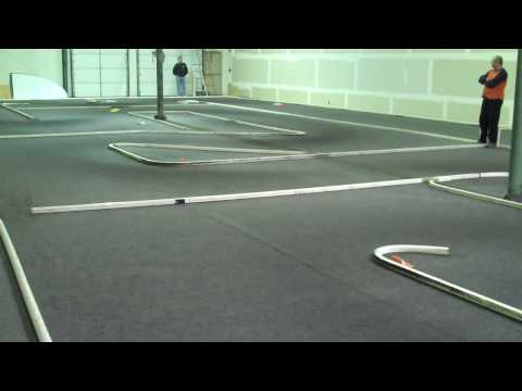 13.5 Single Cell 1/12th Scale Carpet Racing At Horsham R/C