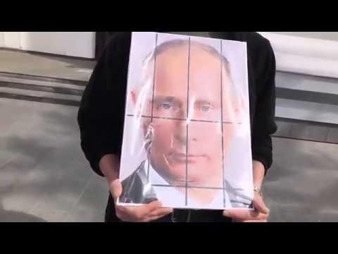 #путин #портрет #Кемерово