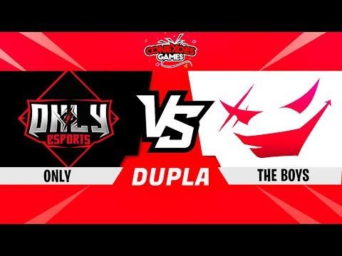 THE BOYS vs ONLY - TORNEIO DUPLAS MUILTI - FINAL