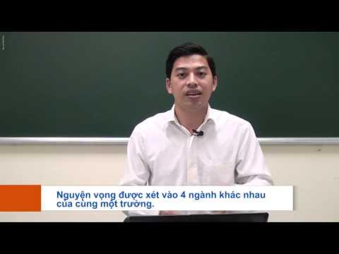 Tư vấn xét nguyện vọng 1, nv2, nv3, nv4 Đại học 2015