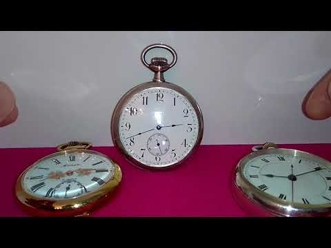 How To Wind The Keyless Pocket Watches