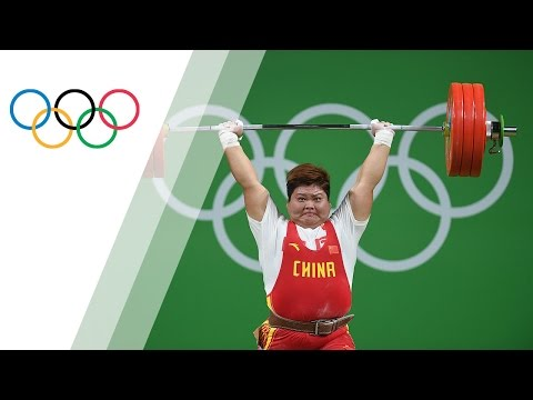 China's Meng wins gold in Women's +75kg Weightlifting