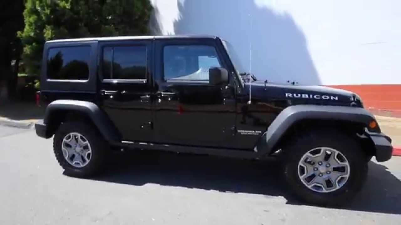 2015 Jeep Wrangler Unlimited Rubicon  Black  FL729159  Redmond