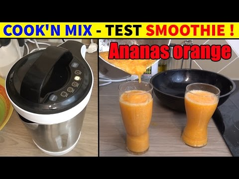 cook'n-mix-lidl-silvercrest-cuiseur-mixeur-test-smoothies-ananas-orange-carotte
