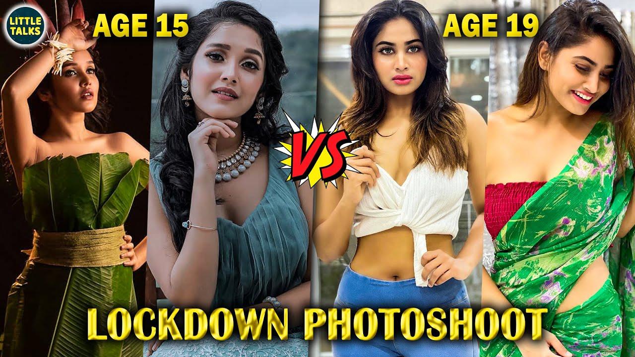 WOW : 15 Years Old Anikha Surendran & 19 Years Old Shivani Narayanan's Heart Stealing Photoshoot
