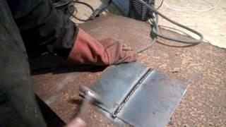 как научится варить электросваркой красивые швы(видео урок как варить листовой метал электросваркой пошаговая инструкция., 2016-11-22T19:03:38.000Z)